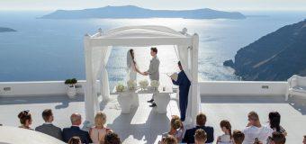 Свадебная церемония на знаменитой площадке Dana Villas!