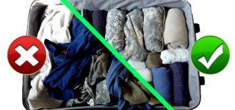 Скоро в отпуск: 10 способов уложить в чемодан всю квартиру.